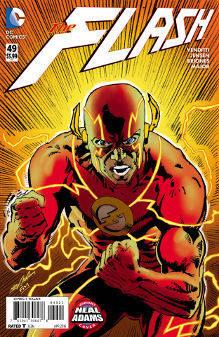 The Flash #49 (Neal Adams Cover)