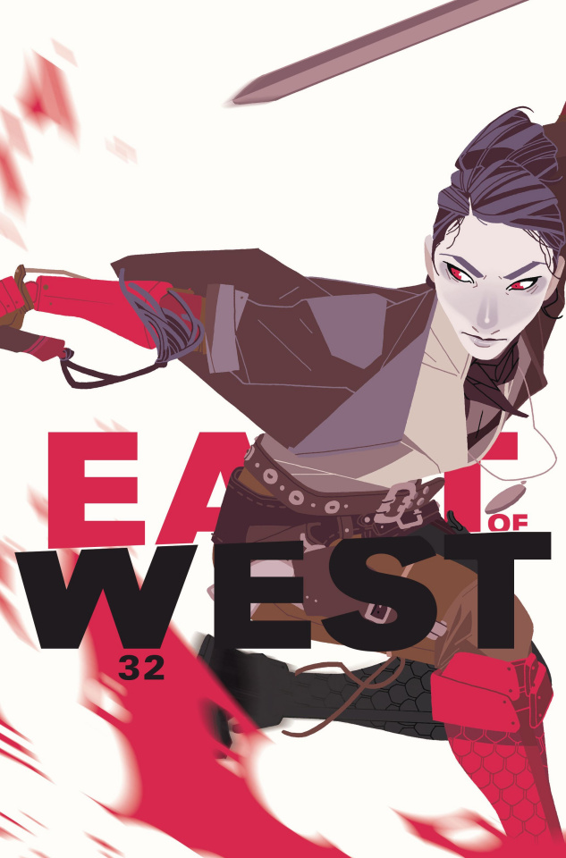 East of West #32 (Women's History Month Charity Cover)