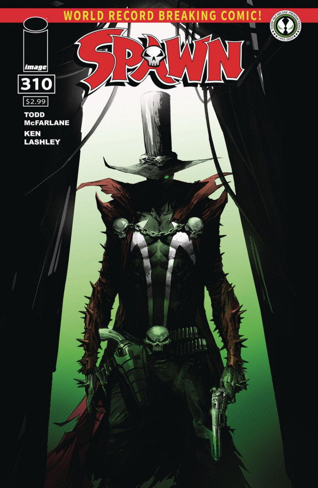 Spawn #310 (Mattina Cover)