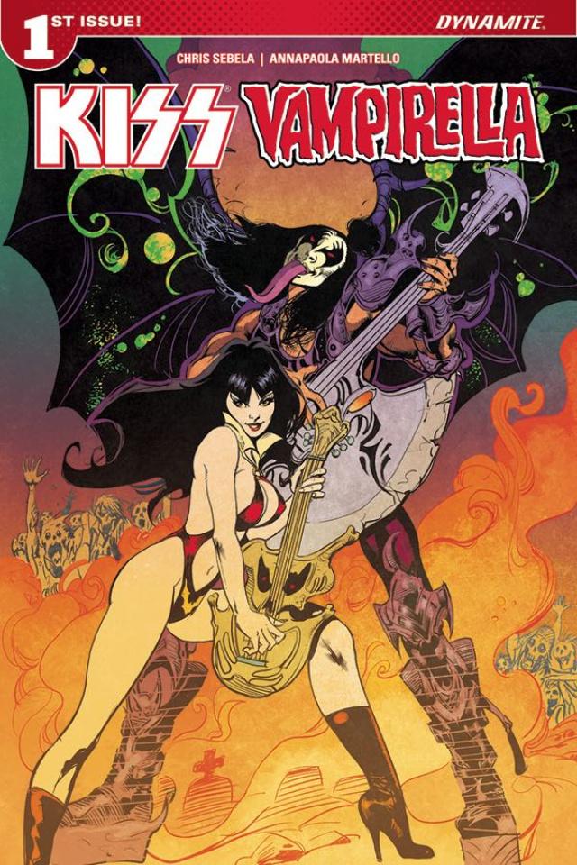 KISS / Vampirella #1 (Castro Cover)