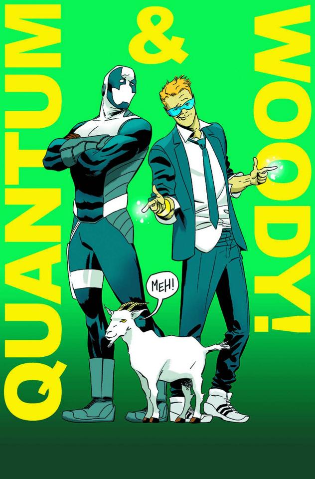 Quantum & Woody #1 (Pullbox Cover)