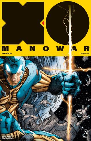 X-O Manowar #8 (Pollina Cover)