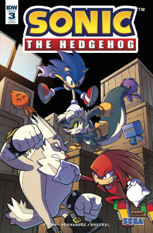 Sonic the Hedgehog #3 (25 Copy Cover)