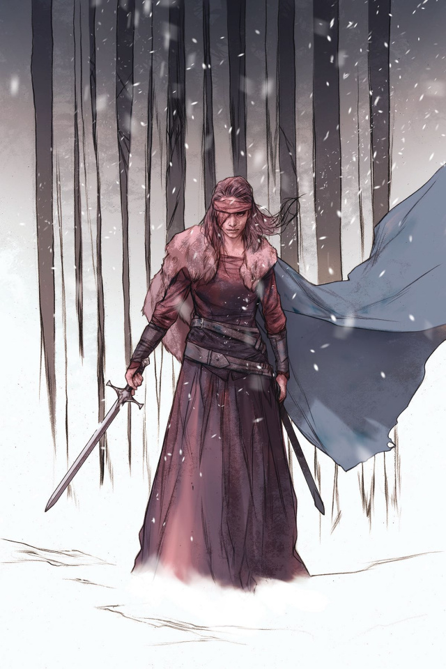 Sword Daughter #5 (Oliver Cover)
