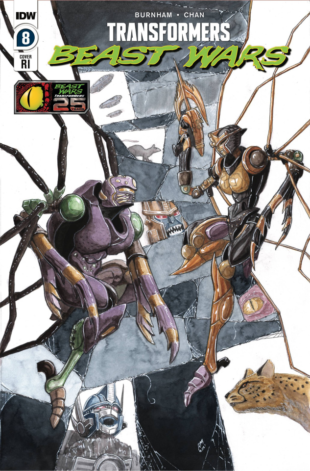 Transformers: Beast Wars #8 (10 Copy Miller Cover)