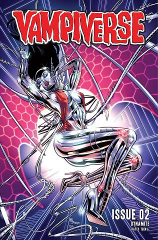 Vampiverse #2 (Sanapo Cover)