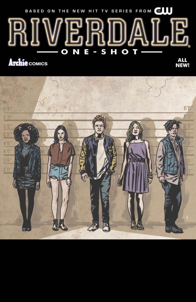 Riverdale #1 (Matthew Dow Smith Cover)
