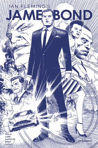 James Bond #1 (11 Copy Cheung Tint Dressed Cover)