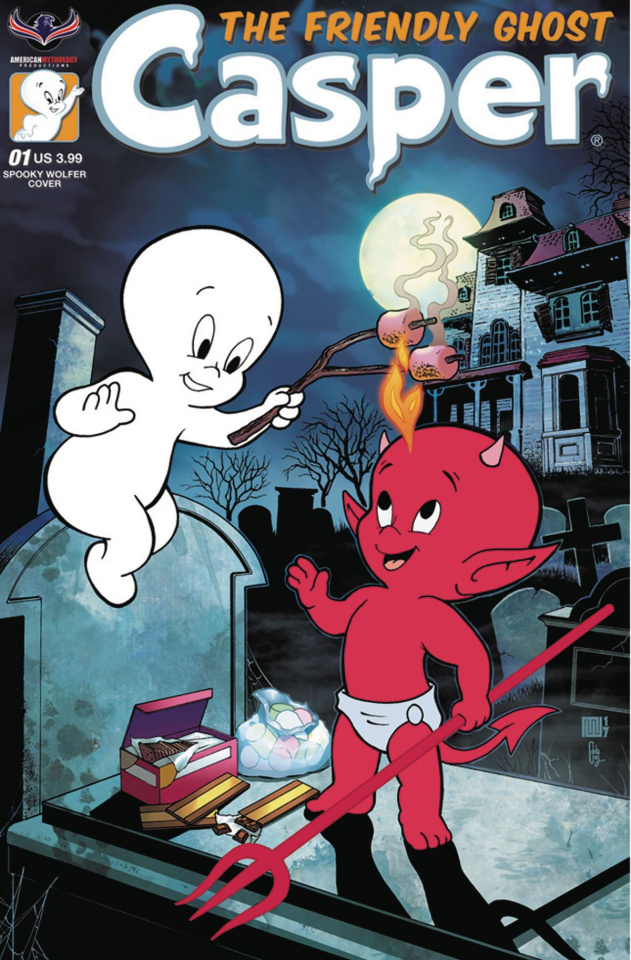 Casper, The Friendly Ghost #1 (Spooky Wolfer Cover)
