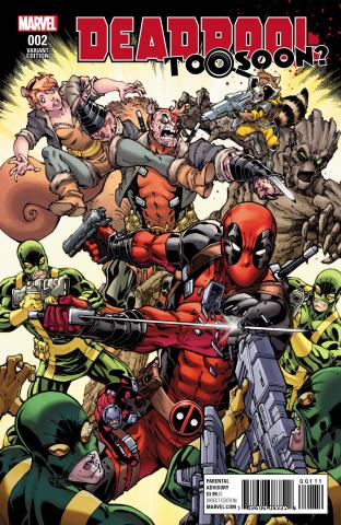 Deadpool: Too Soon? #2 (Nauck Cover)