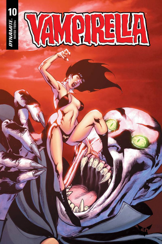 Vampirella #10 (Castro Bonus Cover)