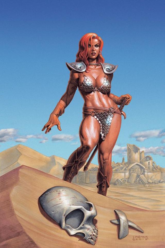 Red Sonja #2 (Linsner Virgin Cover)