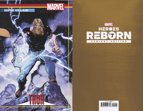 Heroes Reborn #7 (Bagley Connecting Trading Card Cover)