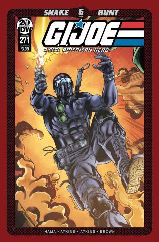 G.I. Joe: A Real American Hero #271 (Atkins Cover)