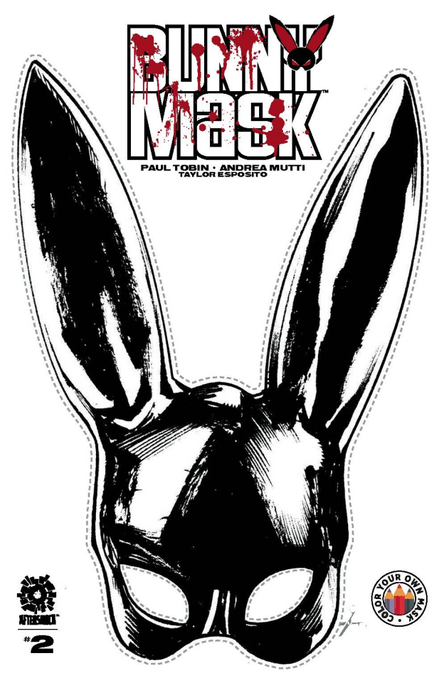 Bunny Mask #2 (15 Copy Make a Mask Cover)
