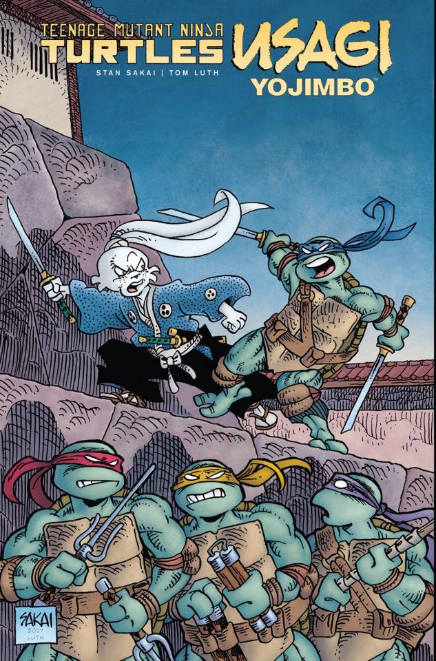 Teenage Mutant Ninja Turtles / Usagi Yojimbo