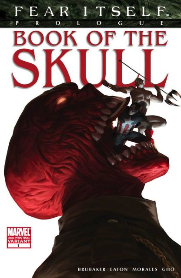 Fear Itself: Book of the Skull #1 (2nd Printing)