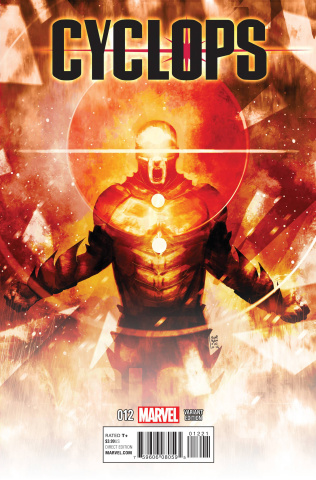 Cyclops #12 (Sorrentino Cosmically Enhanced Cover)