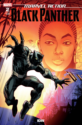 Marvel Action: Black Panther #2 (Samu Cover)