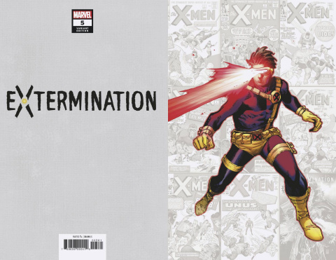 Extermination #5 (Coipel Classified Virgin Cover)