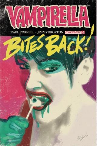 Vampirella #5 (Broxton Subscription Cover)