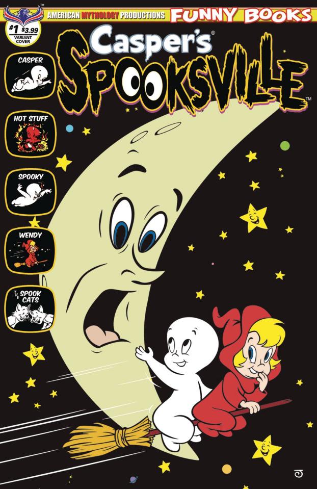 Casper's Spooksville #1 (Spook Moon Cover)
