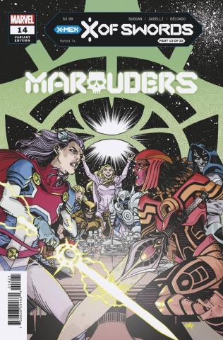 Marauders #14 (Hamner Cover)