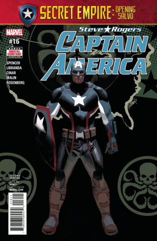 Captain America: Steve Rogers #16 (2nd Printing Acuna)