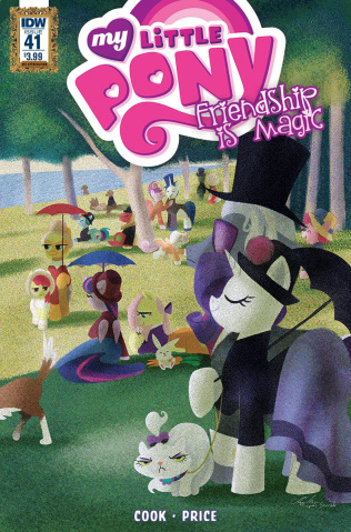 My Little Pony: Friendship Is Magic #41 (Art Appreciation Cover)