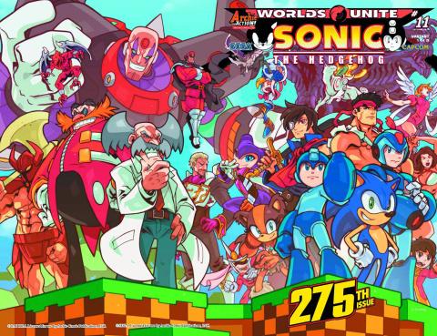 Sonic the Hedgehog #275 (Huang Wraparound Cover)