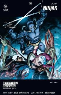 Ninjak #12 (Braithwaite Cover)