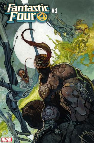 Fantastic Four #1 (Bianchi Venomized Party Cover)