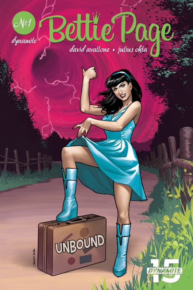 Bettie Page: Unbound #1 (Ohta Cover)