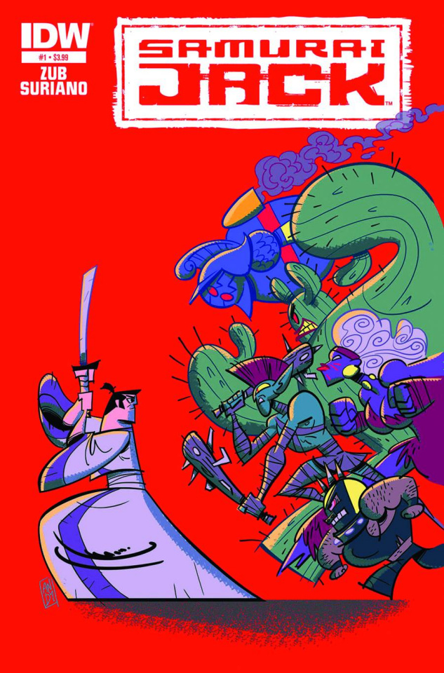 Samurai Jack #1 (2nd Printing)