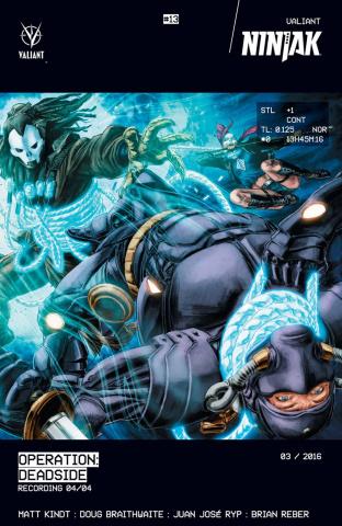 Ninjak #13 (Braithwaite Cover)