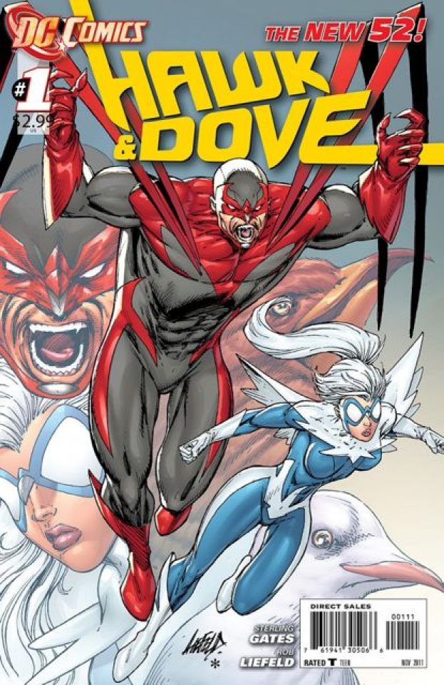 Hawk and Dove #1 (2nd Printing)