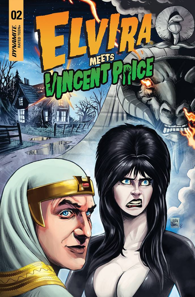 Elvira Meets Vincent Price #2 (Samu Cover)