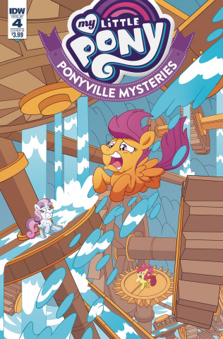 My Little Pony: Ponyville Mysteries #4 (Murphy Cover)