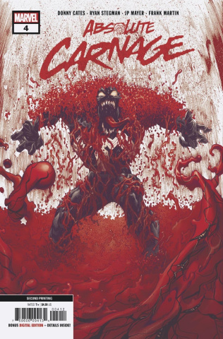 Absolute Carnage #4 (Stegman 2nd Printing)