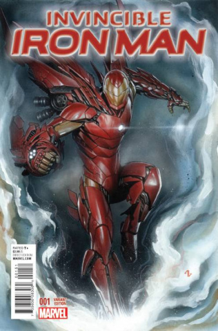 Invincible Iron Man #1 (Granov Cover)