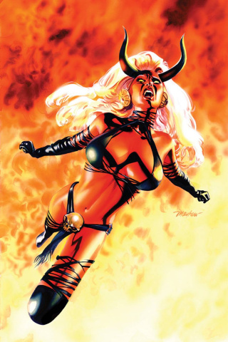 Lady Demon #1 (Rare Mayhew Virgin Cover)