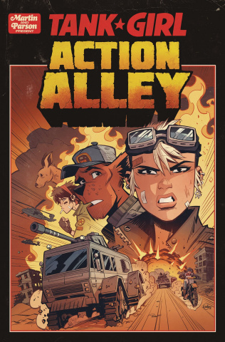 Tank Girl: Action Alley #1 (Parson Cover)