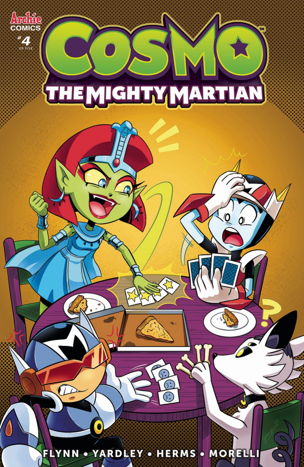 Cosmo: The Mighty Martian #4 (Hernandez Cover)