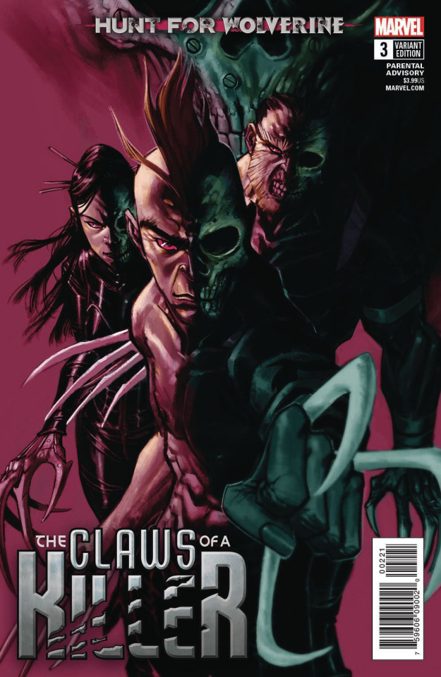 Hunt for Wolverine: The Claws of a Killer #3 (Canete Cover)