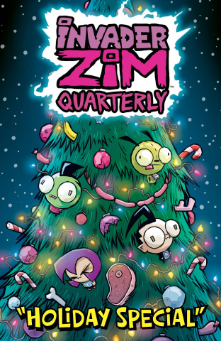 Invader Zim Quarterly Holiday Special #1 (Wucinich Cover)
