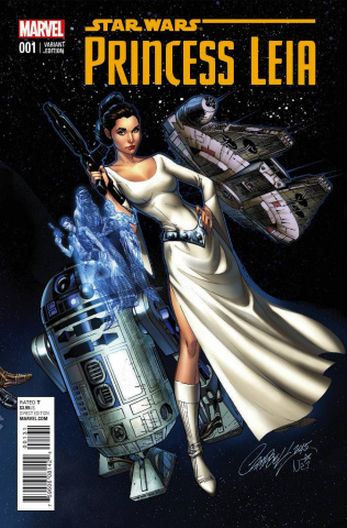 Princess Leia #1 (Campbell Connecting Cover)