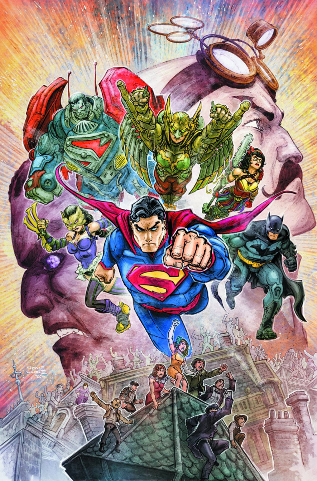 Infinite Crisis: The Fight for the Multiverse #12