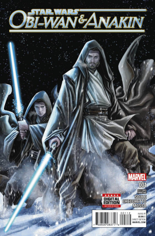 Obi-Wan & Anakin #1 (Checchetto 2nd Printing)