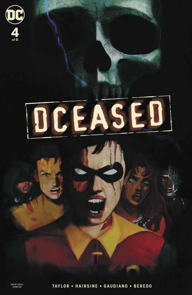 DCeased #4 (Card Stock Horror Cover)