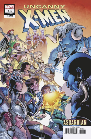 Uncanny X-Men #16 (Sliney Asgardian Cover)